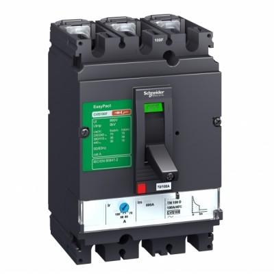 Авт. выкл. Compact CVS 3P 160A 25kA LV516303 SE 160-144-128-112