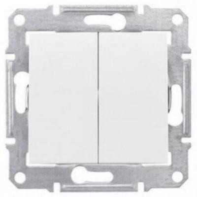 Выкл.  2-кл. бел. сх.5 SDN0300121