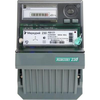Меркурий 230AМ-01 однотарифный 5-50А 3ф