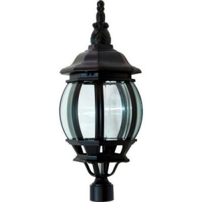 8103 100W светильник восьмигранник черный