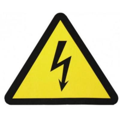 Символ молния (треугольник) 85*85*85