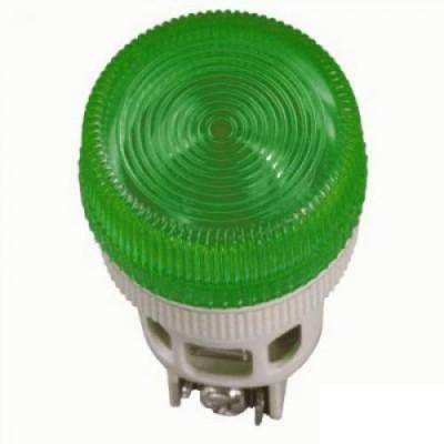 Лампа ENR-22 зеленая неон/240В d22мм