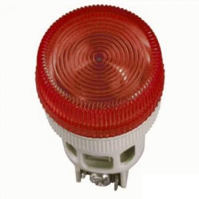 Лампа ENR-22 красная неон/240В d22мм