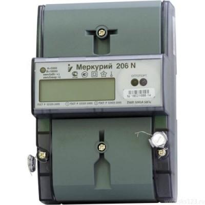 Меркурий 206 N многотарифный 5-60 (1ф)