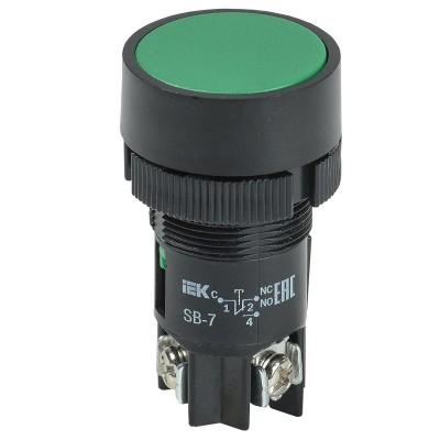 Кнопка SB-7 пуск зеленая