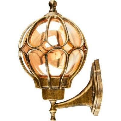 PL3701 60W черное золото светильник Е27 IP44 FERON