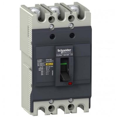 Авт. выкл. EZC100F 10kA 3P 60A Schneider EZC100F3060