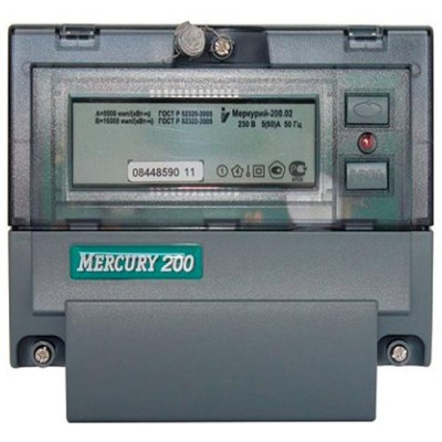 Меркурий 200.02 многотарифный 5-60 (1ф)