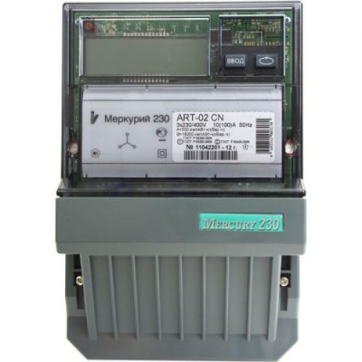 Меркурий 230ART-02 многотарифный 10-100 3ф