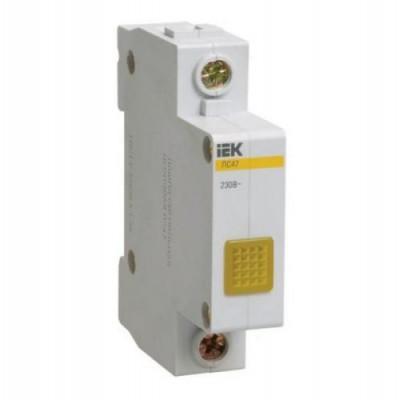 Лампа сигнальная ЛС-47 желтая