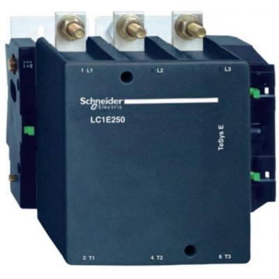 LC1E250Q5-Контактор 3Р.250А, кат. 380В 50Гц SE