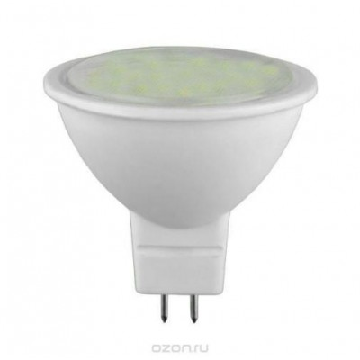 Лампа светодиодная ECO MR16 софит 7Вт 230В 3000К GU5.3 IEK