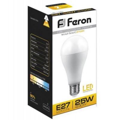 LB-100 Лампа светод. 25W E27 6400K 230V FERON