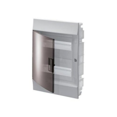 Mistral41 Бокс внутренний 24М прозрачная дв. с шинками | 1SLM004101A2205