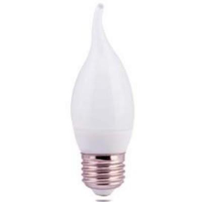 Лампа светодиодная ECO CB35 свеча на ветру 5Вт 230В 4000К E27 IEK