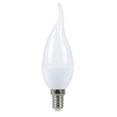 Лампа светодиодная ECO CB35 свеча на ветру 7Вт 230В 4000К E14 IEK