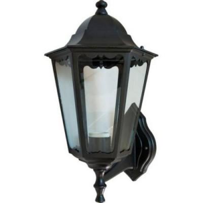 6201 100W шестигранник черный светильник сад-пар
