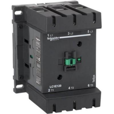 LC1E120M5-Контактор 3Р-120А НО+НЗ,кат.220В 50Гц