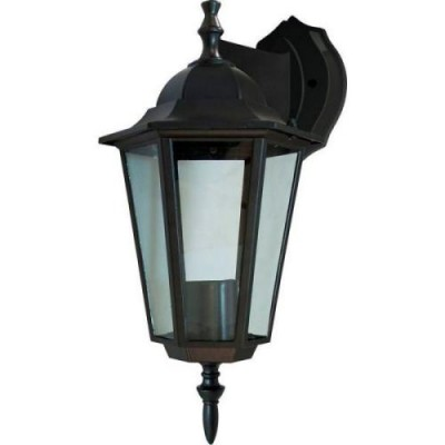 6102 60W шестигр. черн. светильн. улично-садов.