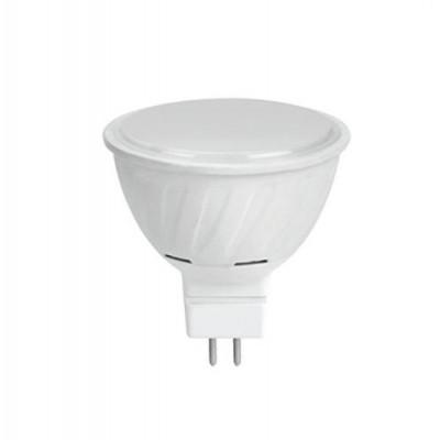 Лампа свет. MR16 LED 10W GU5.3 2800K 51x50 мат. стекло Ecola