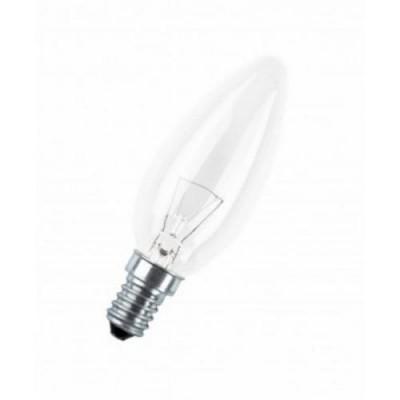 CLAS B CL 40 E14 лампа нак. свеча прозрачн.