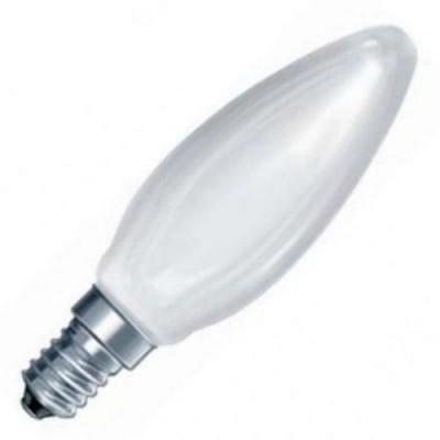 CLAS B FR 40 E14 лампа нак. свеча мат.