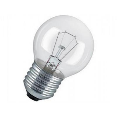 CLAS P CL 40 E27 лампа накал.  каплевид. прозрач.