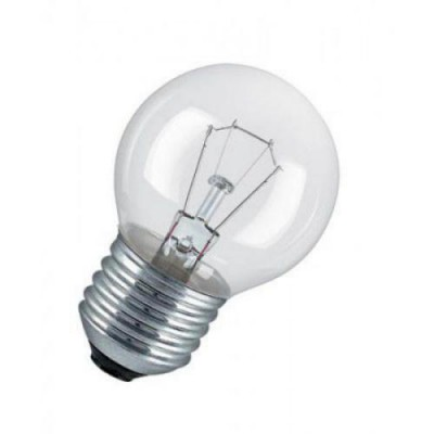 CLAS P CL 60 E27 лампа накал. каплевид. прозрач.