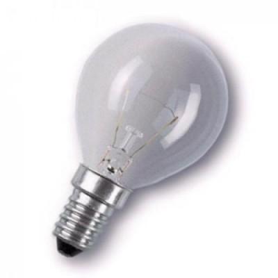 CLAS P FR 40 E14 лампа накал. каплевид. мат.