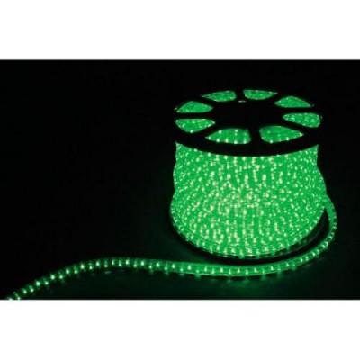 FERON 2W 13mm кругл. зеленый светодиод. дюр