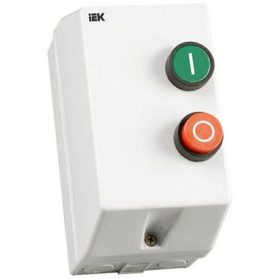 КМИ11860 Контактор 18А в оболочке Ue=220В/АС3 IP54 ИЭК