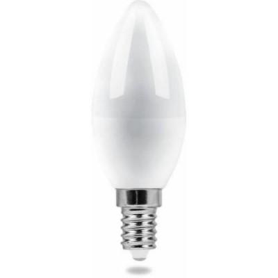 LB-72 Лампа свет. СВЕЧА МАТ. 5W E14 2700K 230V FERON