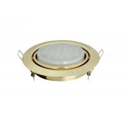 Светильник GX53FT9073 Поворотный встр. Золото 40*120 Ecola