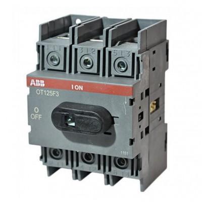 Рубильник  ОТ125F3 125А ABB  на 1 направление   1SCA105033R1001
