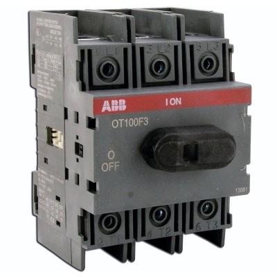Рубильник  ОТ100F3 100А ABB на 1 направление     1SCA105004R1001