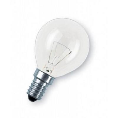 CLAS P CL 40 E14 лампа накал. каплевид. прозрач.