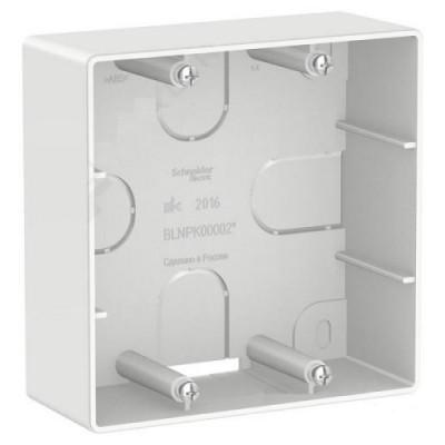 BLNPK000021 Коробка подъемная для силовых розеток, бел 100*100*41