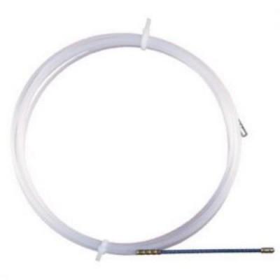 Протяжка для кабеля нейлоновая 4мм, 20м ДКС 59420