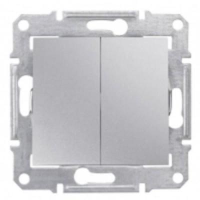 Выкл. 2-кл. сх.5 алюм. SDN0300160