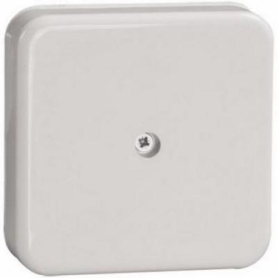 КМ41222 коробка распаечная белая 100*100*44 с конт