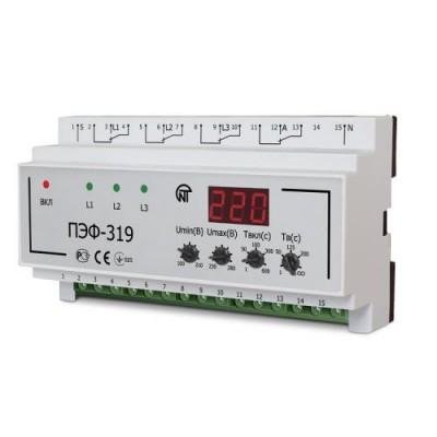 Переключатель фаз ПЭФ-319 30А