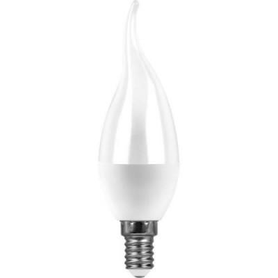LB-97 Лампа светодиодная  7W E27 2700K свеча на ветру  FERON