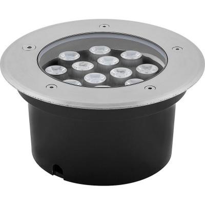 SP4114 Светильник тротуарный, 3LED холодный белый, 12W, 180*H90mm, внутренний диаметр: 112mm, IP 67 220V