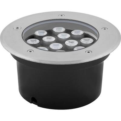 SP4114 Светильник тротуарный, 3LED RGB, 12W, 180*H90mm, внутренний диаметр: 112mm, IP 67 220V