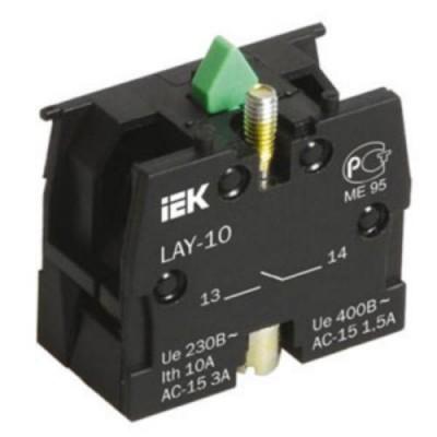 Контактный блок 1з для серии LAY5-10 ИЭКзеленый
