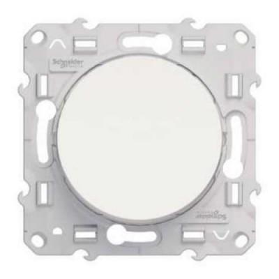 S52R201 Выключатель 1-кл  белый ODACE