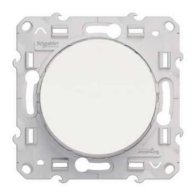S52R203 Переключатель 1-кл  белый ODACE