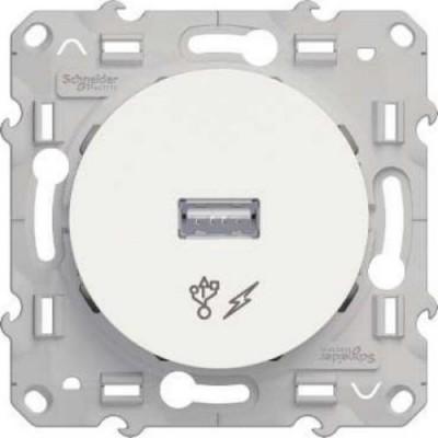 S52R408 Розетка USB белый ODACE