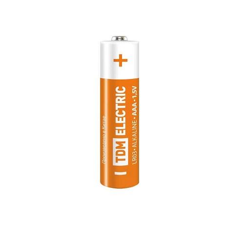 Элемент питания LR03 AAA Alkaline 1,5V ТДМ