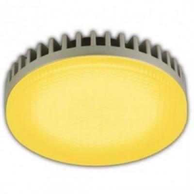 Лампа GX53 LED Yellow 8W матовое стекло Ecola